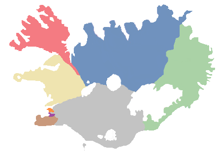 Sóknir í Reykjavíkurbiskupsdæmi