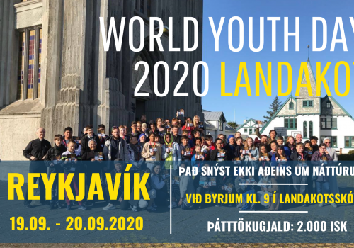 WYD 2020 poster